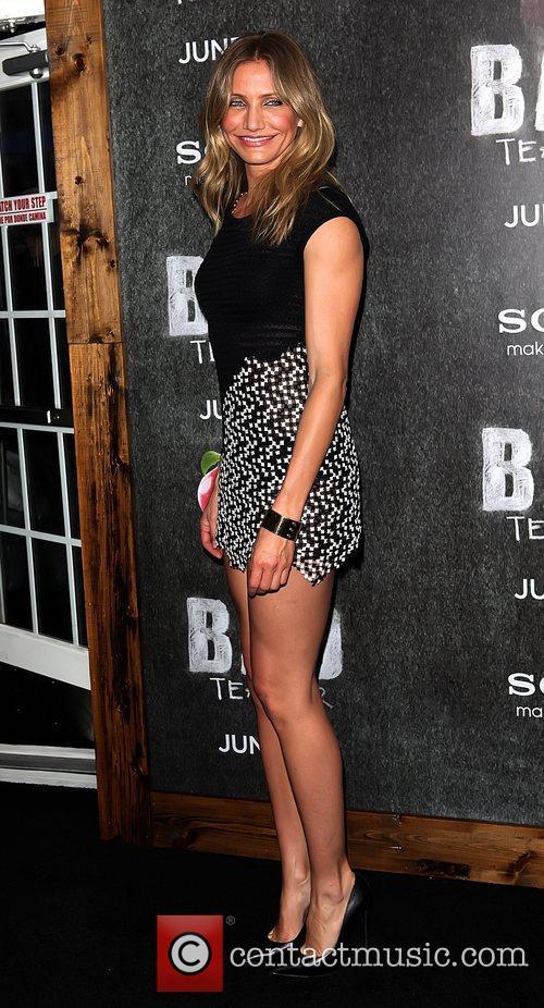 Cameron Diaz World premiere of 'Bad Teacher' held...