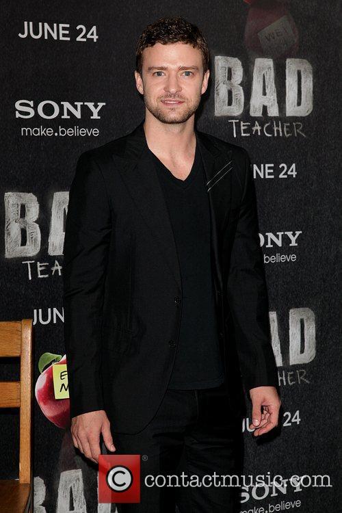 Justin Timberlake World premiere of 'Bad Teacher' held...