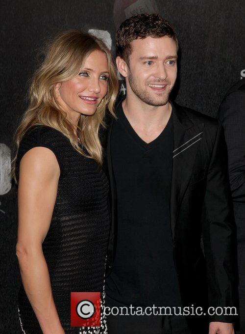 Cameron Diaz and Justin Timberlake World premiere of...