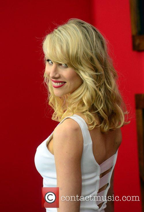 Lucy Punch  World premiere of 'Bad Teacher'...