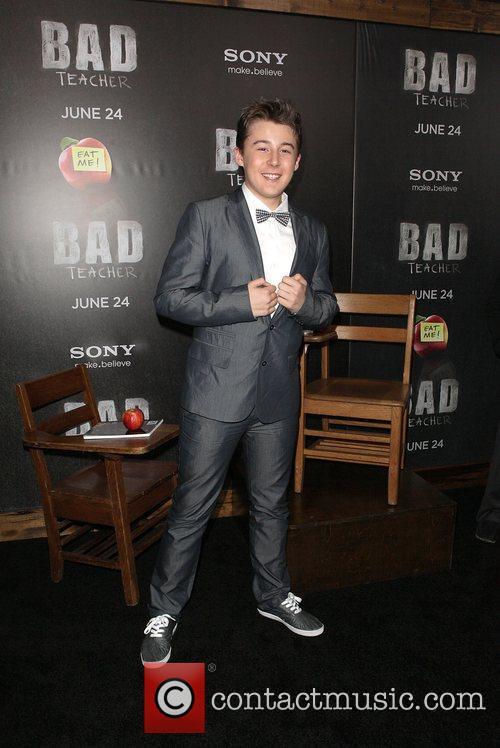 Matthew Evans  World premiere of 'Bad Teacher'...