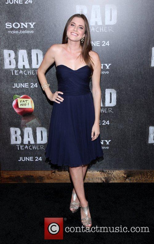 Allison Williams  World premiere of 'Bad Teacher'...