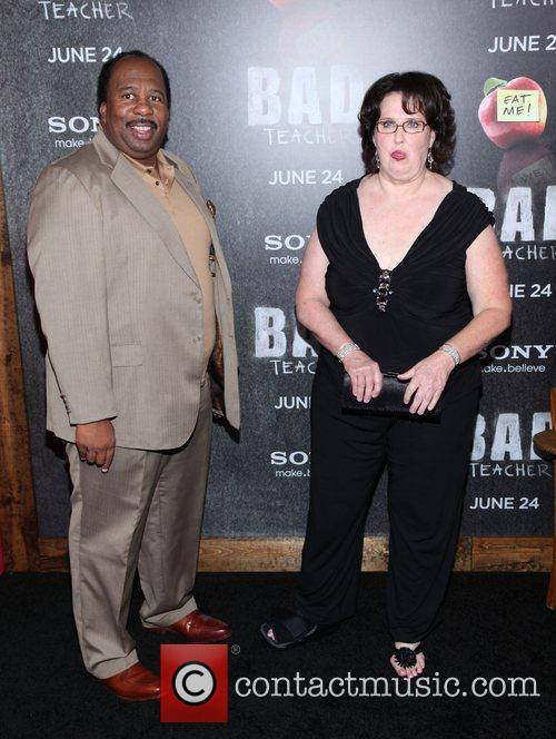 Leslie David Baker and Phyllis Smith