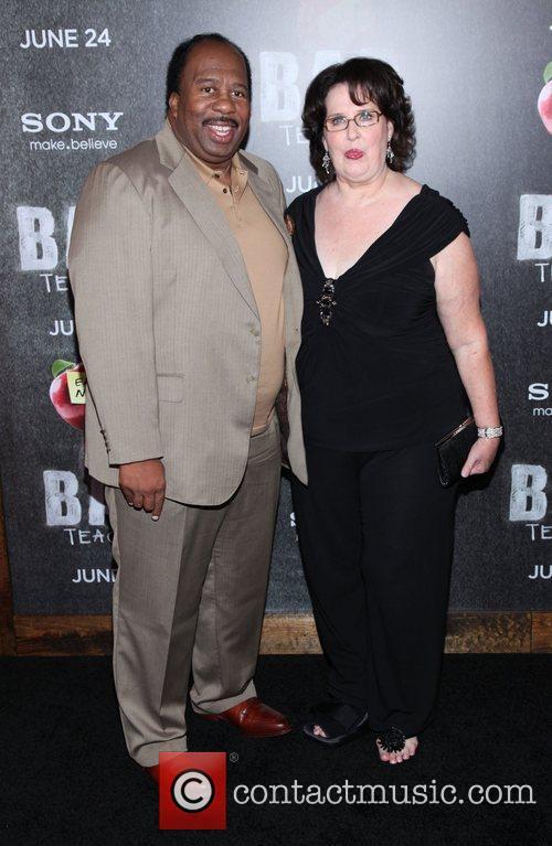 Leslie David Baker and Phyllis Smith  World...