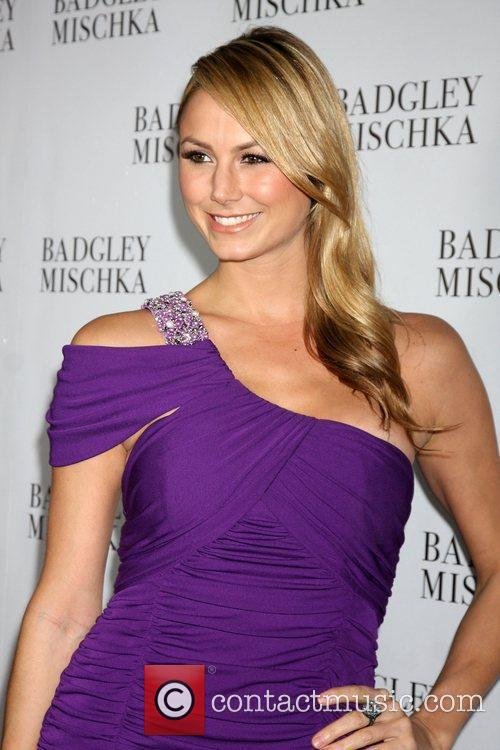 Stacy Keibler  The Badgley Mischka flagship store...