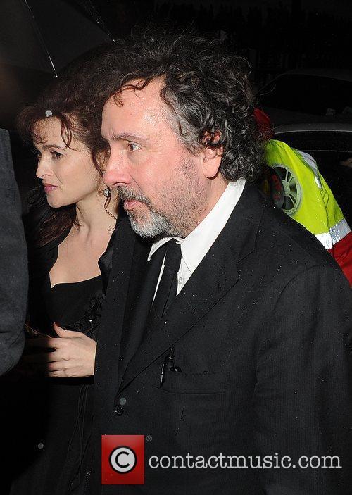 Tim Burton and Helena Bonham Carter