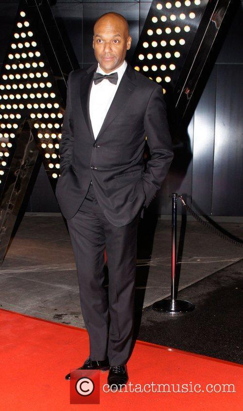 Colin Salmon Orange British Academy Film Awards after...