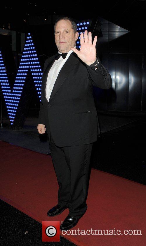 Harvey Weinstien at the British Academy Of Film...