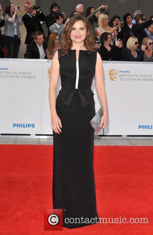 Hayley Attwell Philips British Academy Television Awards in...