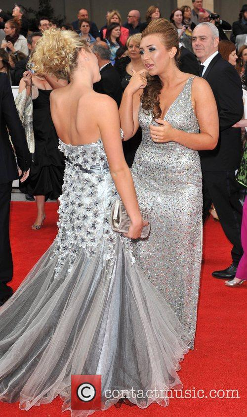 Lauren Goodger and Lydia Bright Philips British Academy...