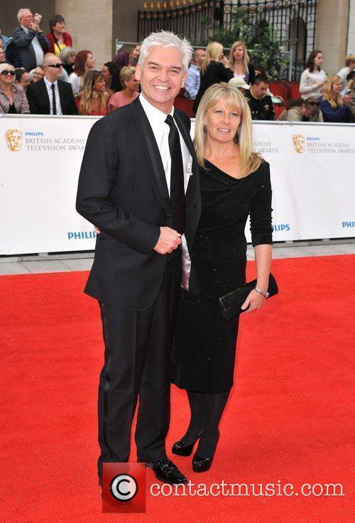 Philip Schofield Philips British Academy Television Awards in...