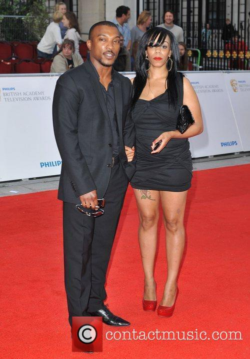 Ashley Walters and guest Philips British Academy Television...