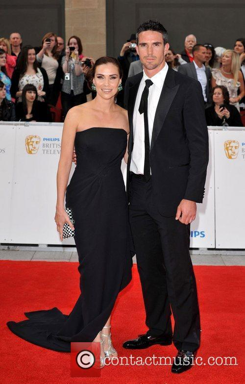Jessica Taylor and Kevin Pietersen Philips British Academy...