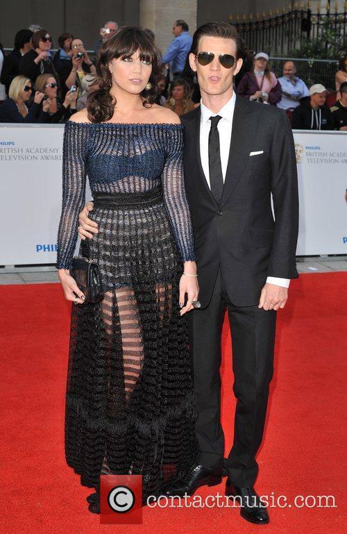 Daisy Lowe and Matt Smith Philips British Academy...