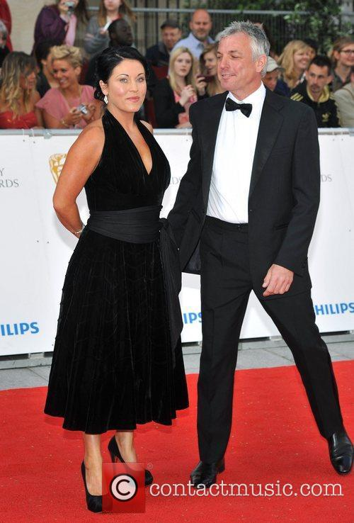 Jessie Wallace and guest Philips British Academy Television...