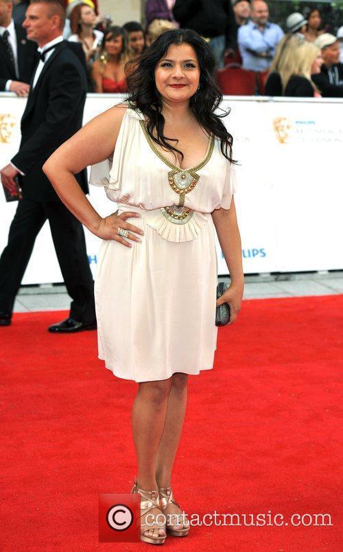 Nina Wadia Philips British Academy Television Awards in...