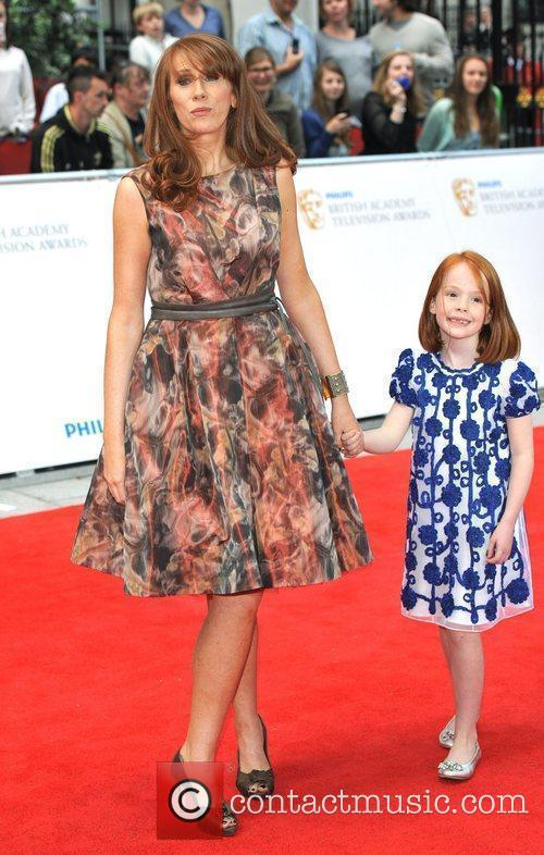 Katherine Tate and daughter Philips British Academy Television...