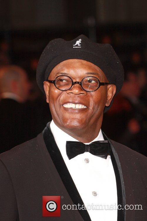 Samuel L. Jackson Orange British Academy Film Awards...