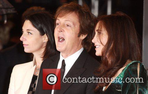 Sir Paul Mccartney and Nancy Shevell 2