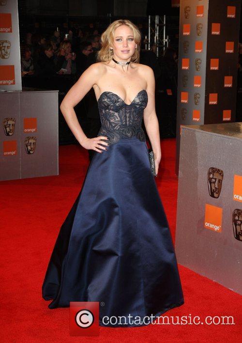 Jennifer Lawrence Orange British Academy Film Awards (BAFTAs)...