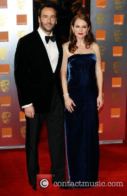 Tom Ford & Julianne Moore Orange British Academy...