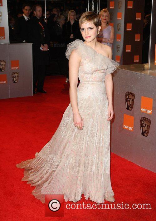 Emma Watson The British Academy Film Awards 2011...