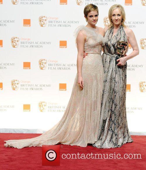 Emma Watson and Jk Rowling 2