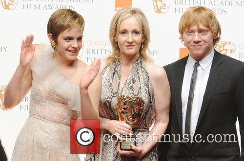Emma Watson, Rowling, Rupert Grint