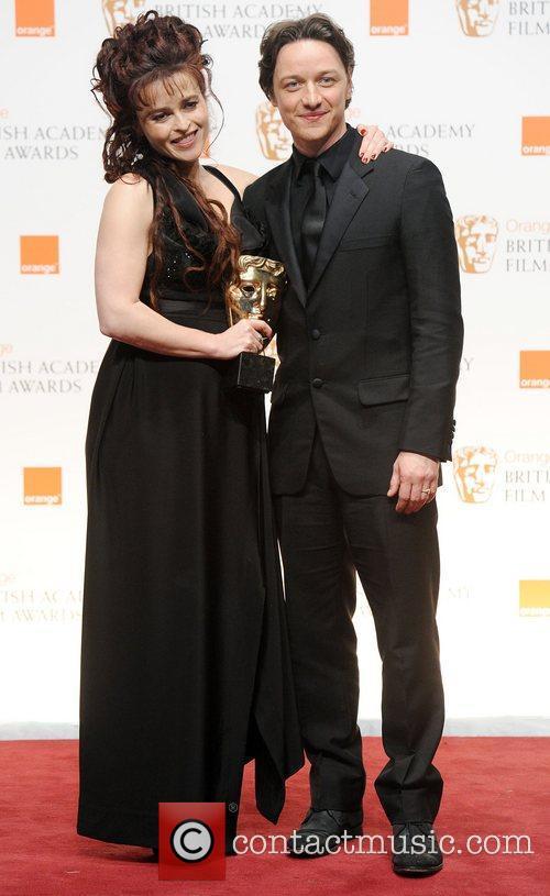 James McAvoy and Helena Bonham Carter  Orange...