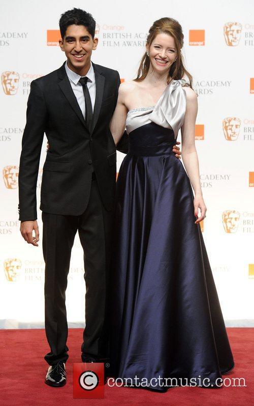 Tallulah Riley and Dev Patel  Orange British...