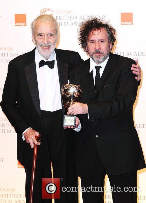 Christopher Lee and Tim Burton 4