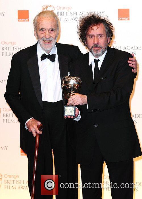 Christopher Lee and Tim Burton 3