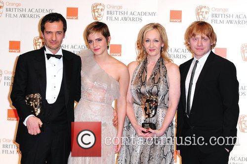 David Hayman, Emma Watson, Jk Rowling and Rupert Grint 6