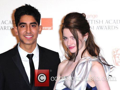 Dev Patel and Talulah Riley,  Orange British...