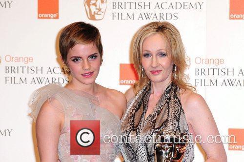 Emma Watson and Jk Rowling 7