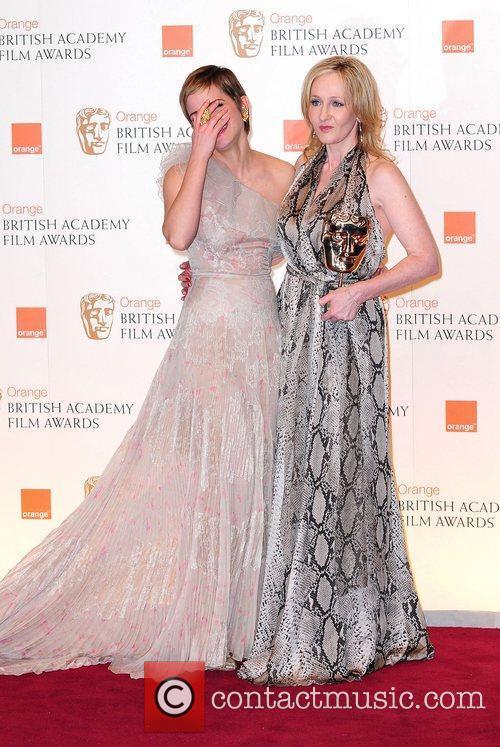 Emma Watson and Jk Rowling 1