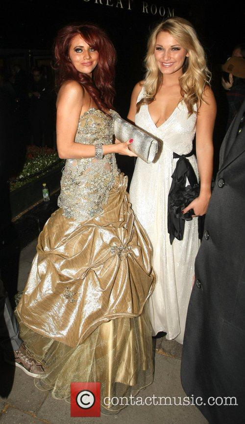 Amy Childs and Sam Faiers Philips British Academy...