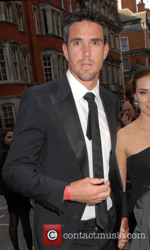 Kevin Pietersen  Philips British Academy Television Awards...