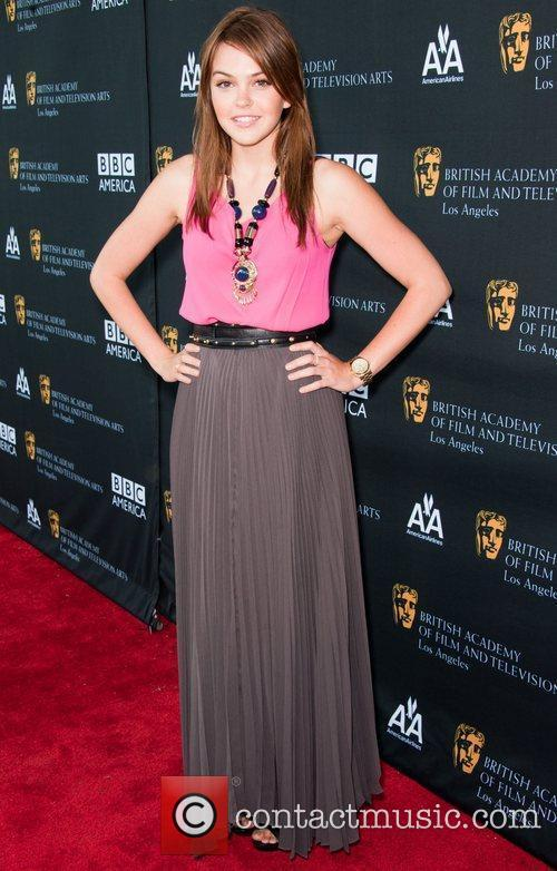 Aimee Teegarden and Bafta 2