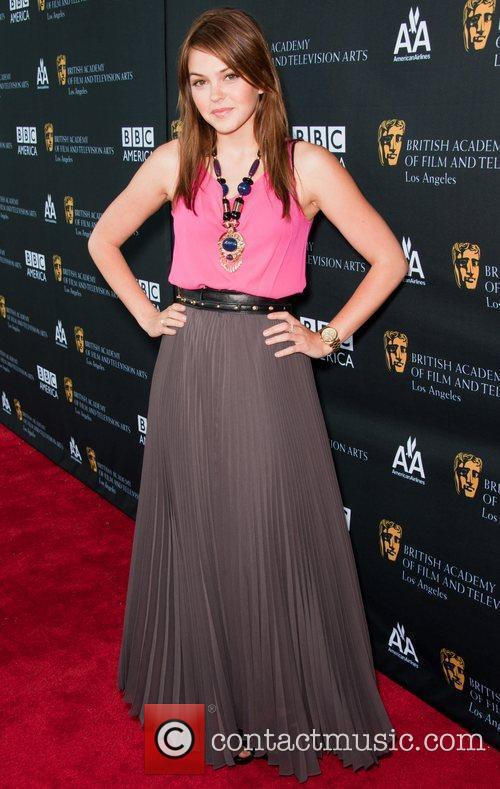 Aimee Teegarden and Bafta 3
