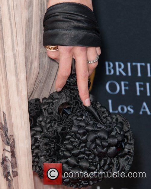 Amanda Righetti and Bafta 5