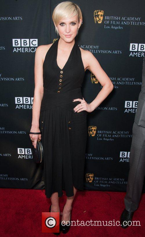 Ashlee Simpson and Bafta 4