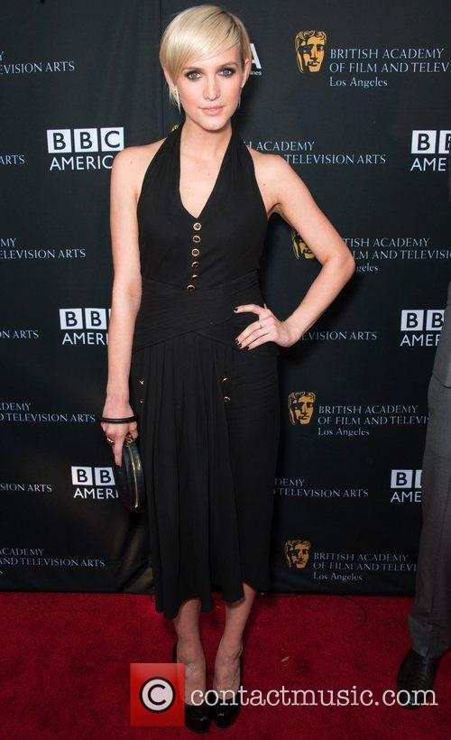 Ashlee Simpson and Bafta 1