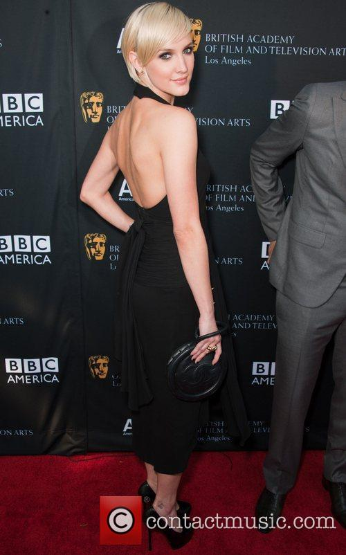 Ashlee Simpson and Bafta 3