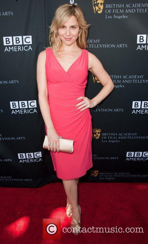 Cara Buono and Bafta 3