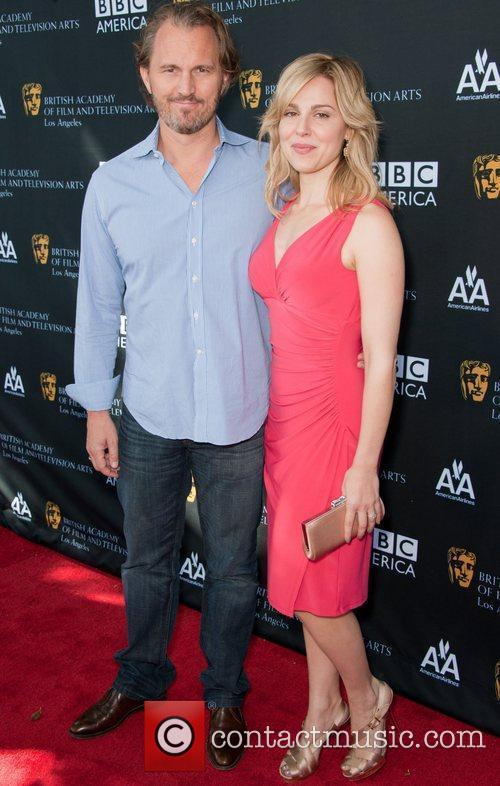 Cara Buono and Bafta 4