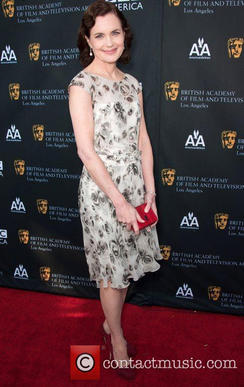 Elizabeth Mcgovern and Bafta 3