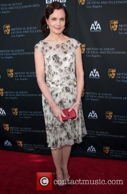 Elizabeth Mcgovern and Bafta 2