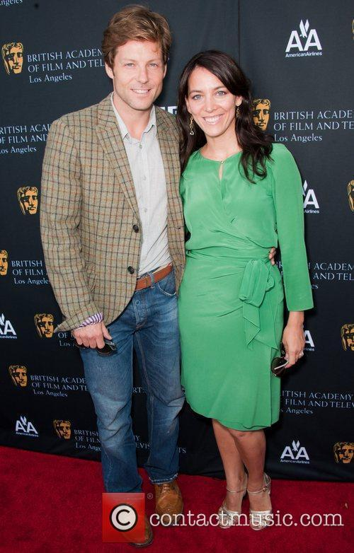 Jamie Bamber and guest 9th Annual BAFTA Los...