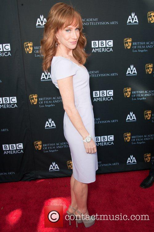 Kelly Griffin and Bafta 3